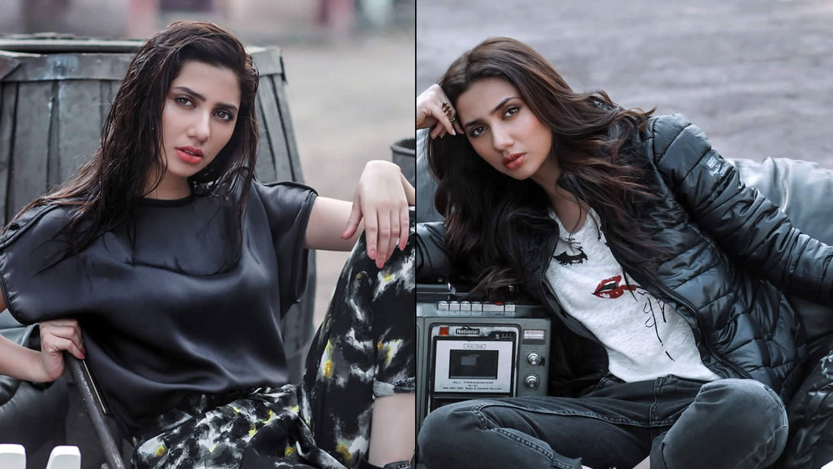 Mahira Khan looking 'oh so fab' in Pepe Jeans Nov 2015 ad.