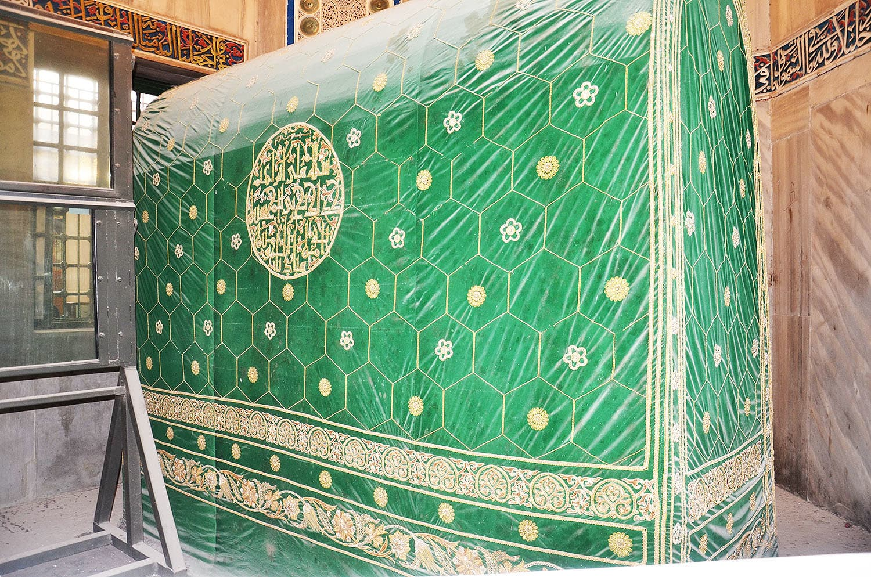 Shrine of Prophet Ibrahim.