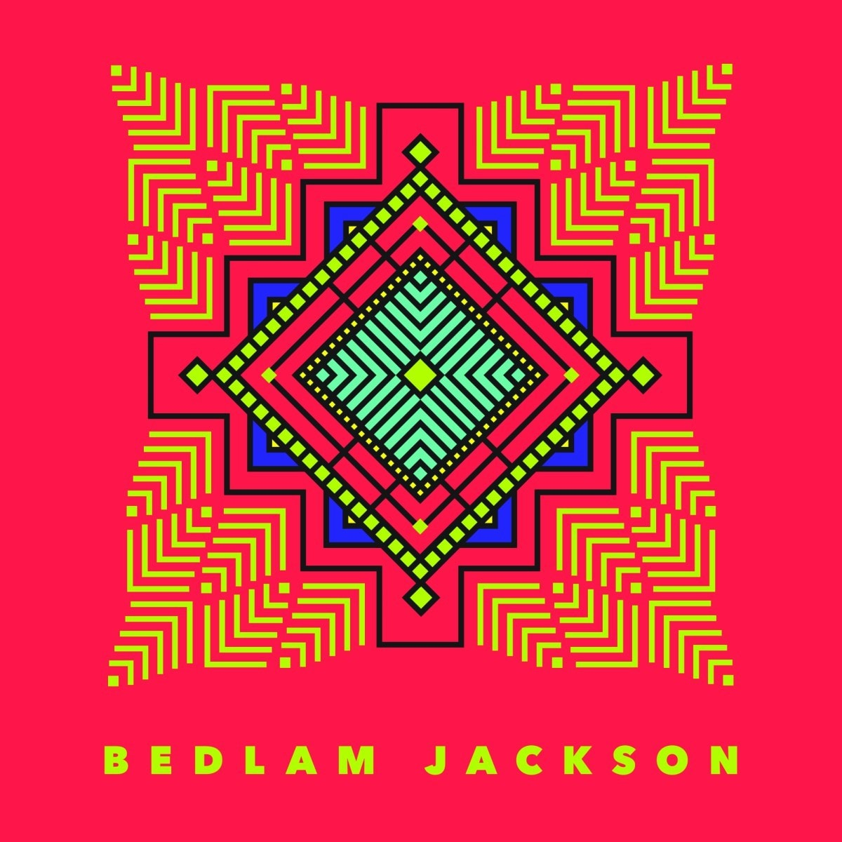 The cover art for Bedlam Jackson, Taurees' solo music project