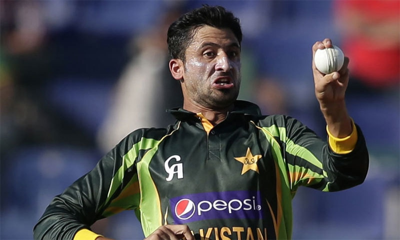 """""""I bowled outstanding spells in my last practice game. I returned figures of one for 22 in seven overs,"""" says Junaid. — AFP/File"""