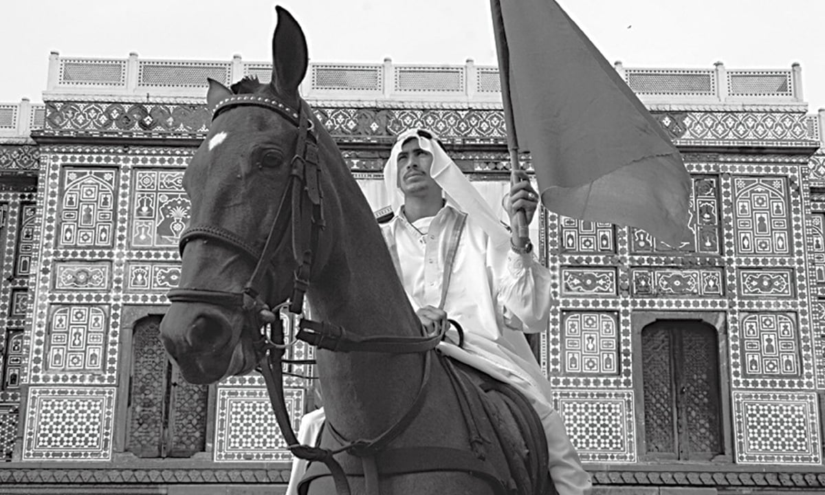 The Ghost of Mohammad Bin Qasim, digital print, 2005 | Courtesy Gallery TPW and Savac