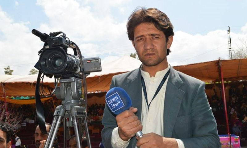 Cameraman Mehmood Khan lost his life in the Quetta bombing-File