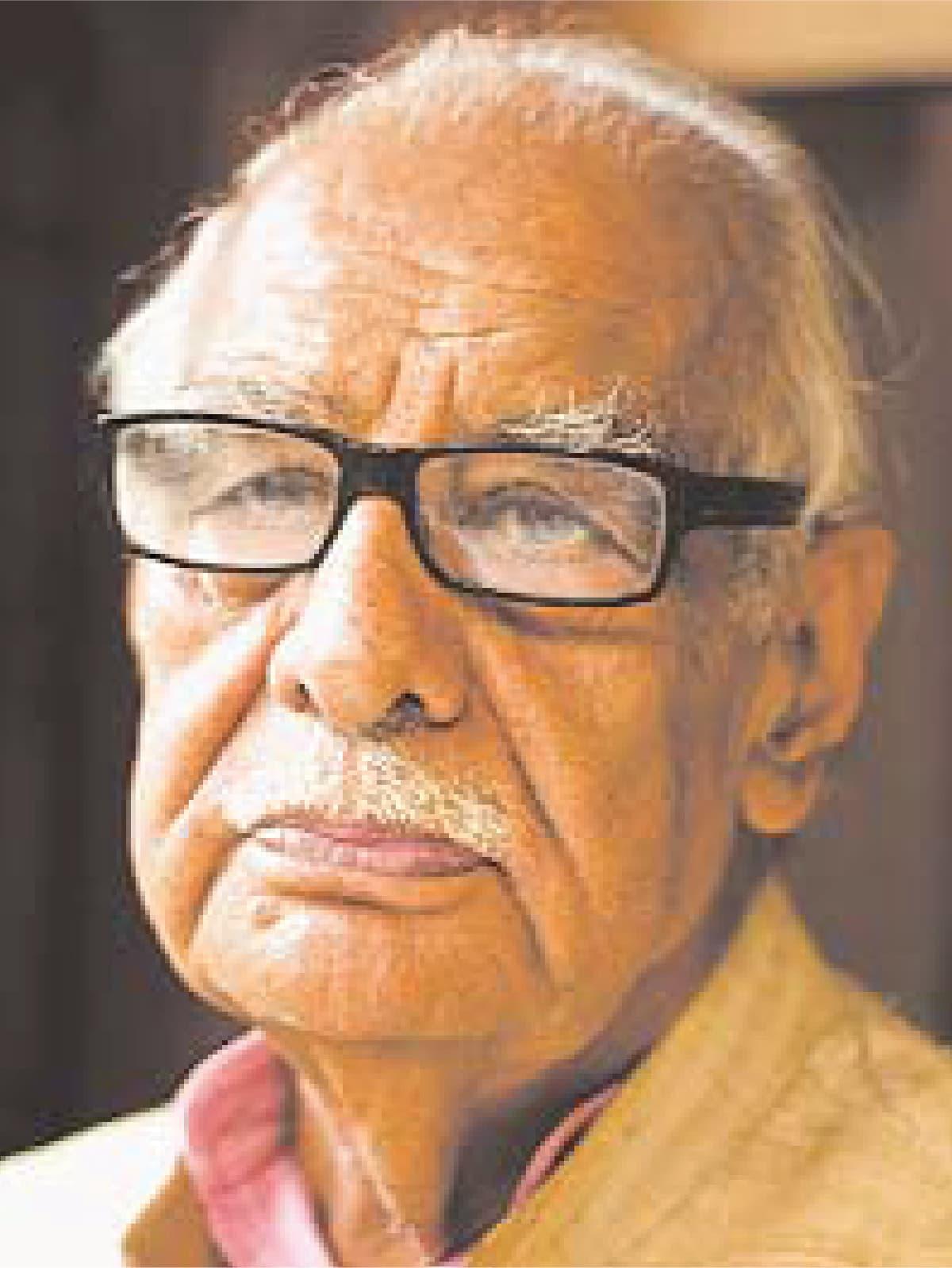 A portrait of Kuldip Nayar | Herald archives
