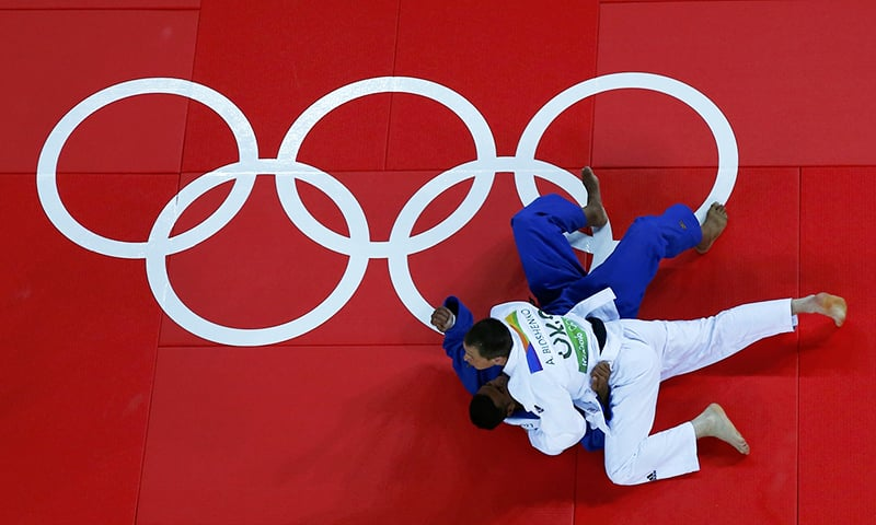 Pakistan's Judoka Shah Hussain out of Rio Olympics in first appearance