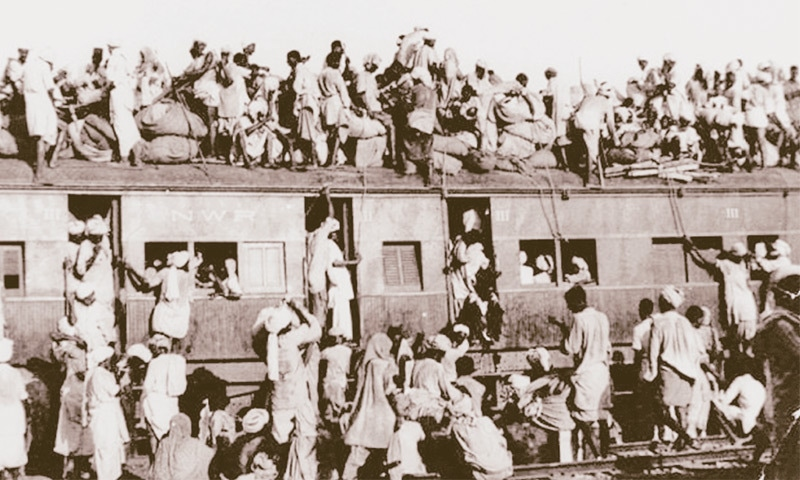 The trains brought thousands to Pakistan.