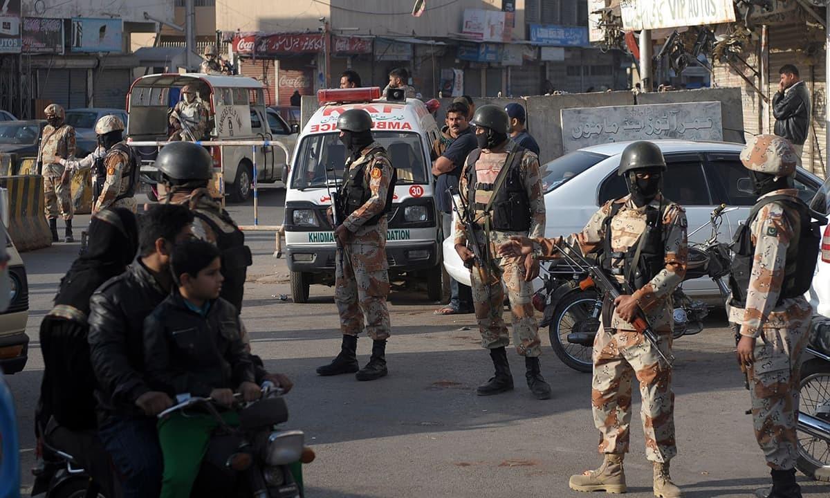 Six terrorists nabbed in Rawalpindi combing operation: ISPR