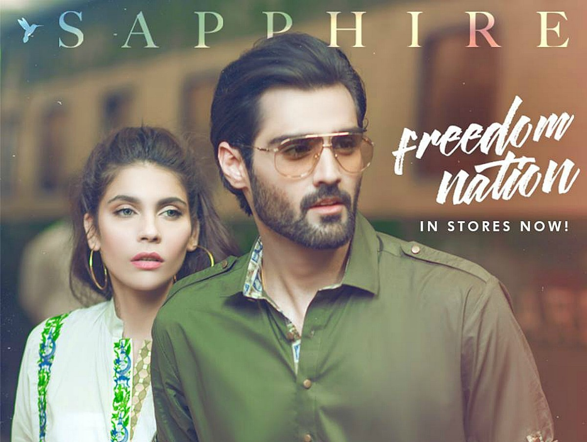Sapphire's Freedom Nation collection focuses on designs that are relevant beyond Independence Day