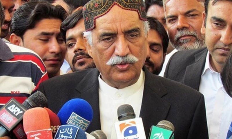 Khursheed Shah holds Nisar responsible for deteriorating security situation in country