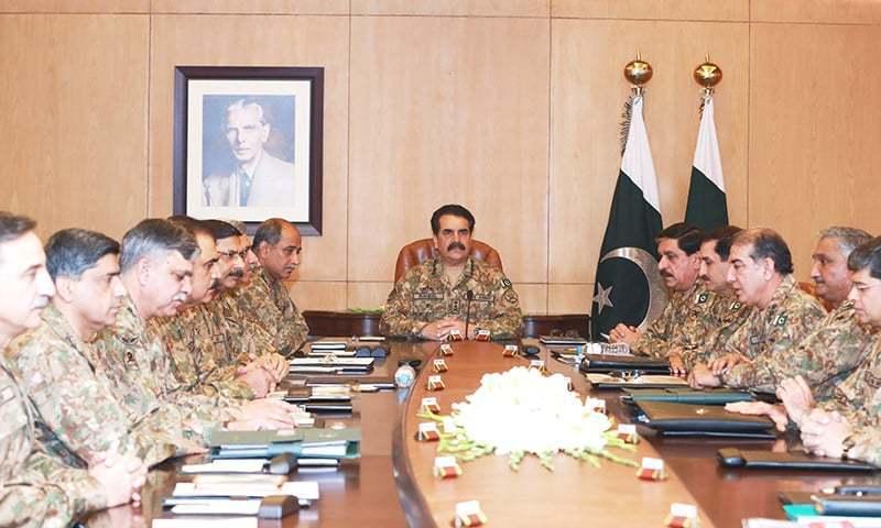 COAS expresses dismay over slow NAP execution