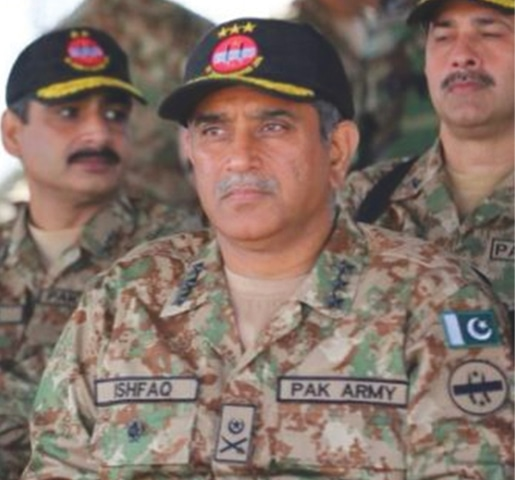 Lt Gen Ishfaq Nadeem Ahmed