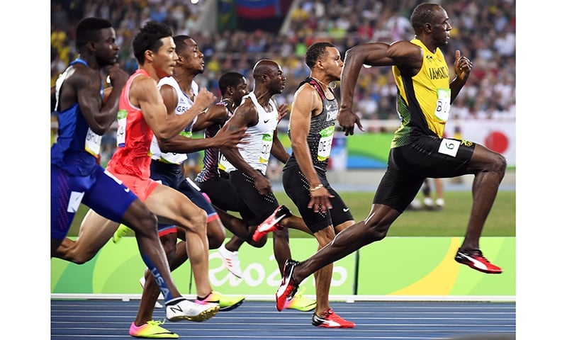 'Lightning' strikes thrice as Bolt completes 100m hat ...