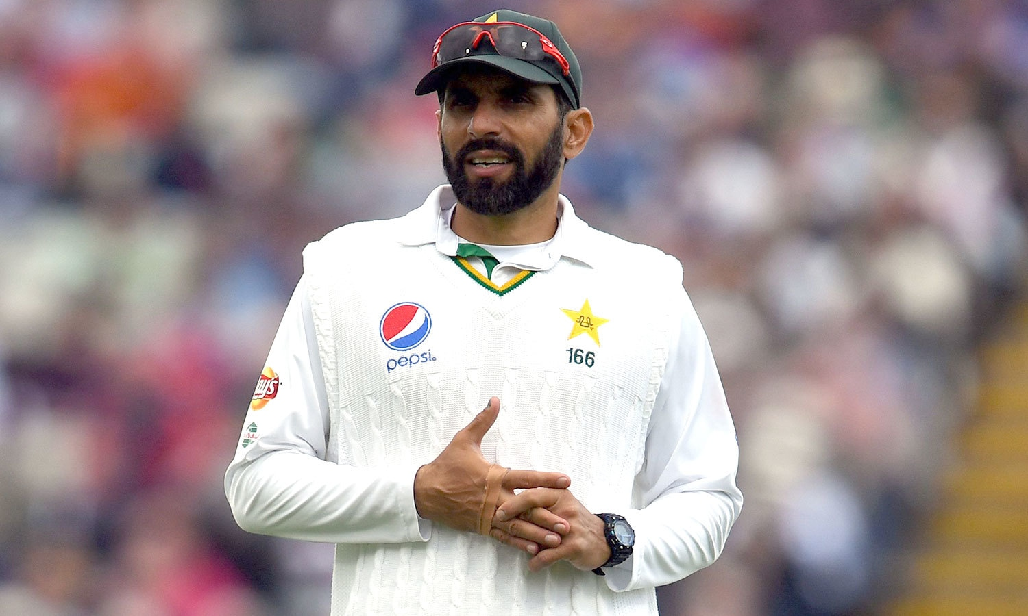 He keeps calm, stays patient and lets the game come to him instead of chasing it. It is *the Misbah way* of doing things. — AFP