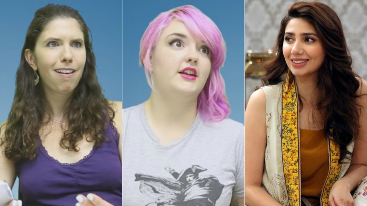 Watch these Americans decide which Pakistani actresses they like best