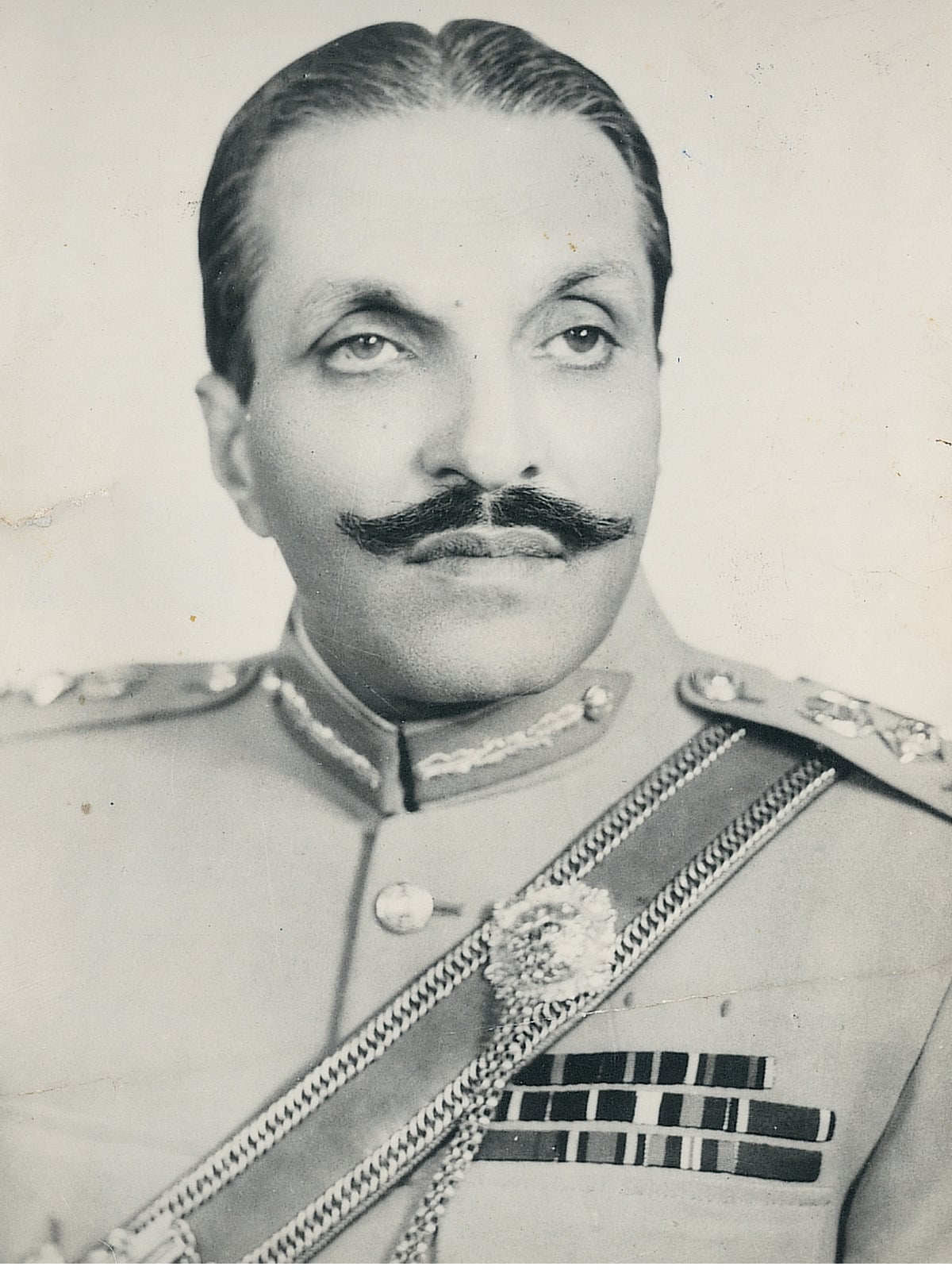 A portrait of Ziaul Haq | WHITE STAR ARCHIVES