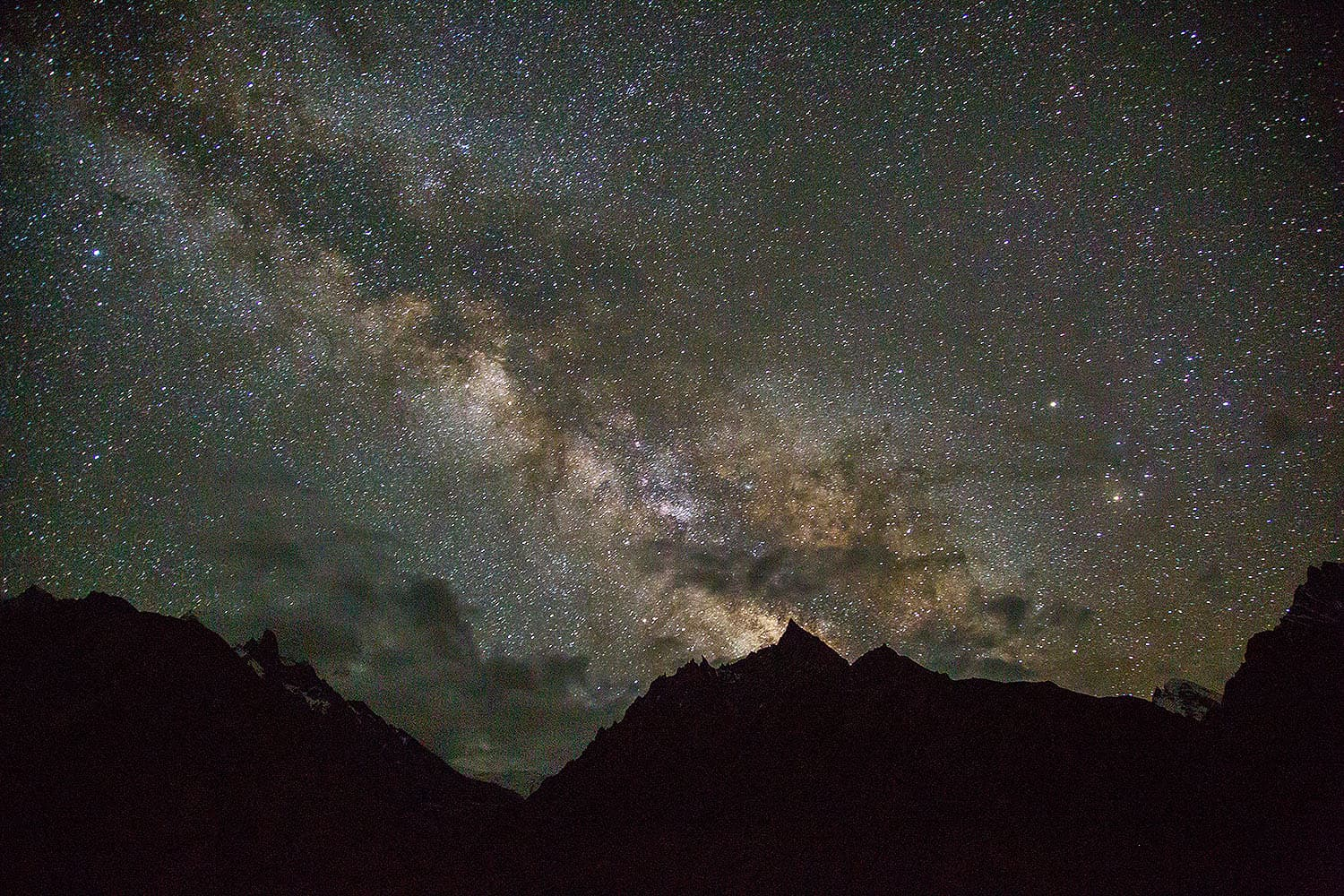 I woke up in the middle of the night and was awestruck when I looked at the sky. I immediately grabbed my camera to take this shot of the Milky Way from our Payu camp.