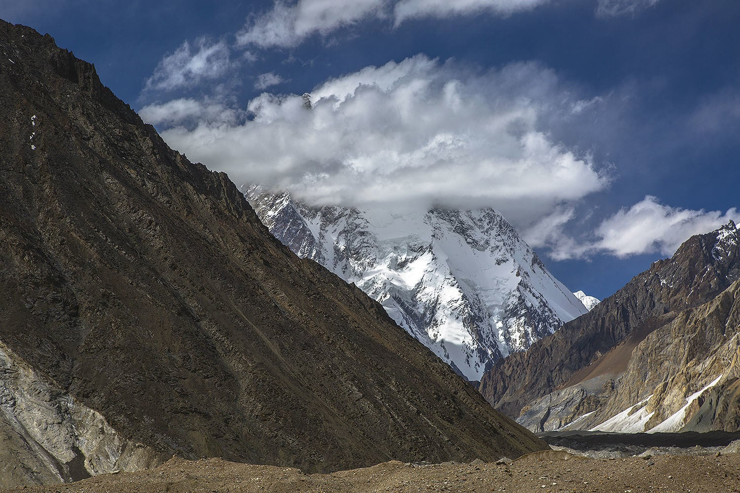 My first view of K2.