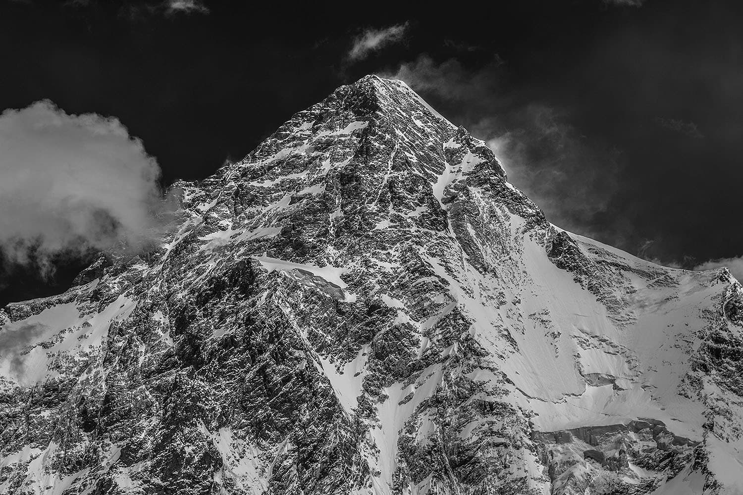 A summit view of K2.