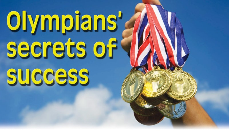 Cover story: Olympians' secrets of success