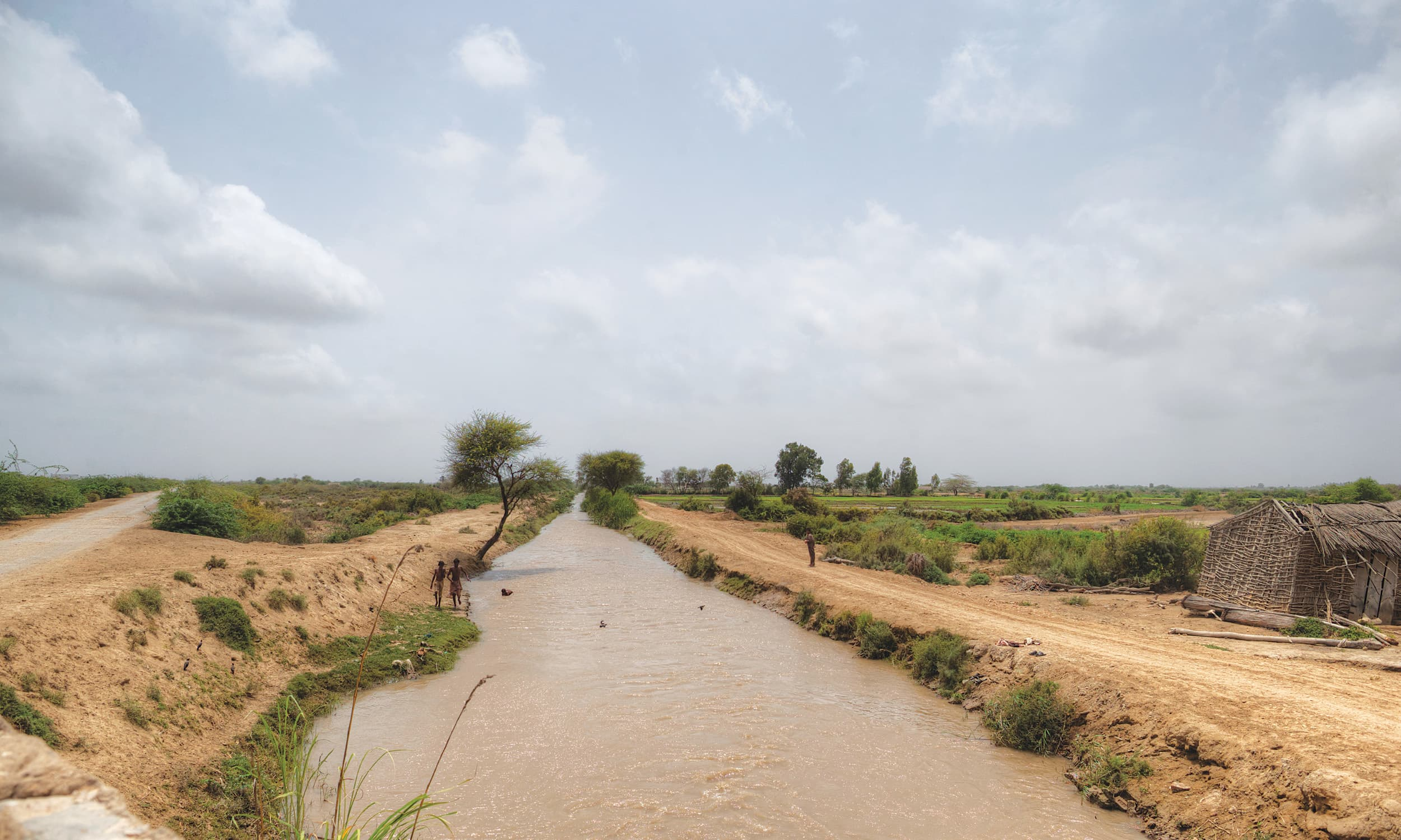 The view from a bridge a few kilometres from Gharo, Sindh | Kohi Marri