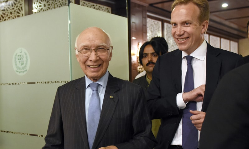 Pakistan, Norway have unanimous views on regional issues