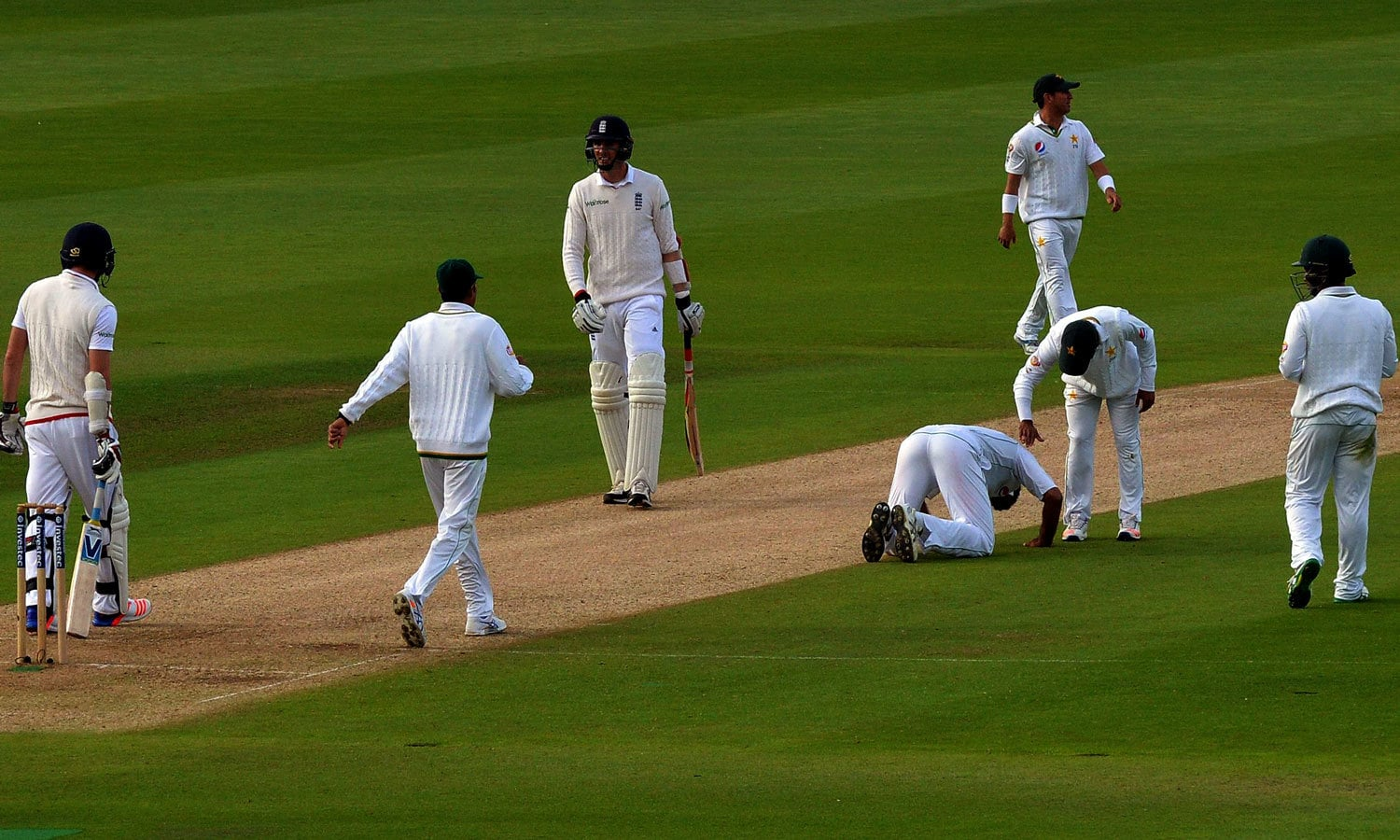 """""""The English batsmen don't gift away their wickets. You have to think out of the box to get their scalp."""" — AFP"""