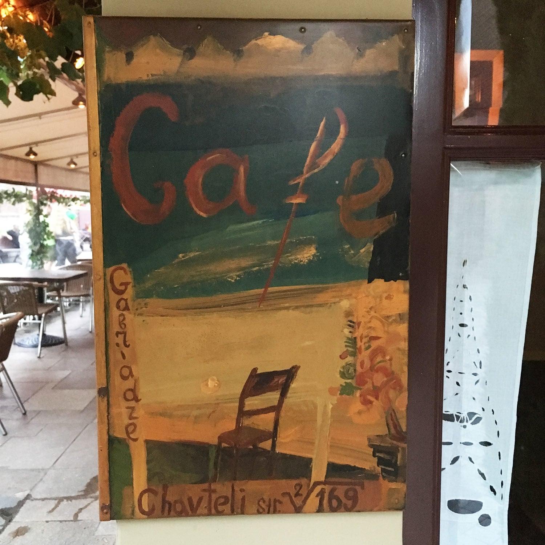 Cafe Gabriadze.