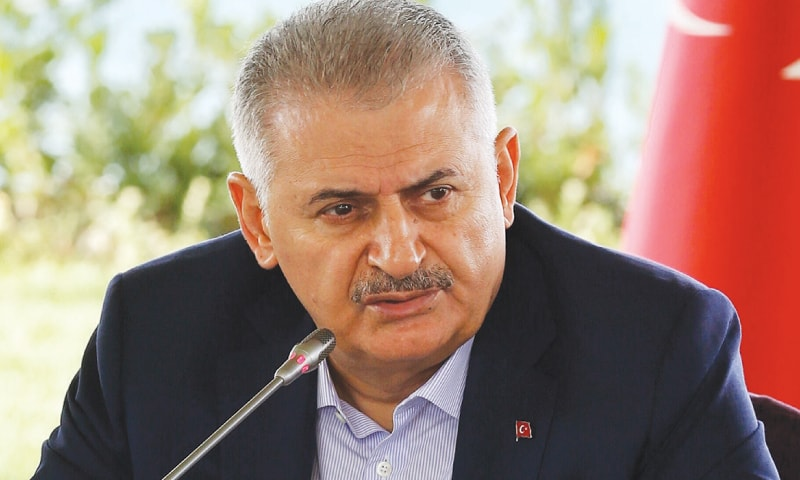 Yildirim vows 'more active' role in Syria in coming months