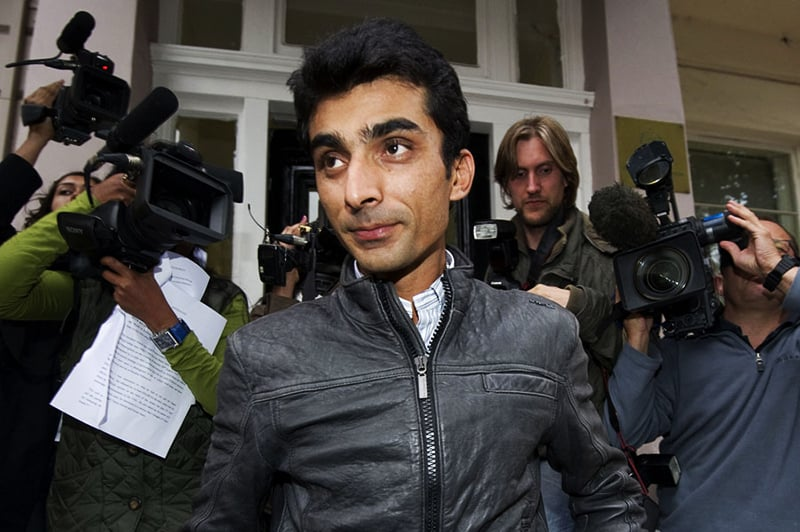 Yasir Hameed. — AFP