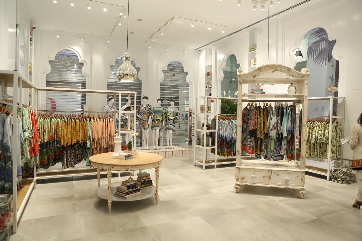 The expansive store, complete with kids' play area and a cafe, is housed at the brand new Emporium Mall in Lahore