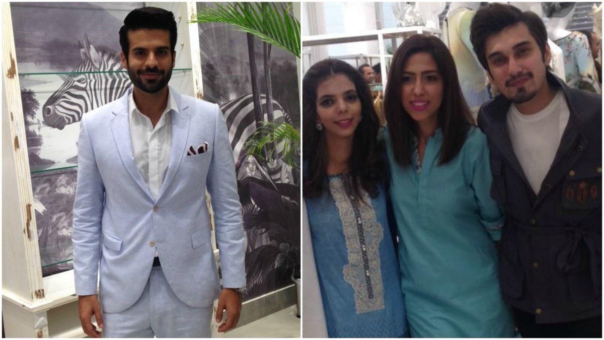 The presence of the very dapper actor/filmmaker Adnan Malik and crooner Uzair Jaswal sure made the ladies happy