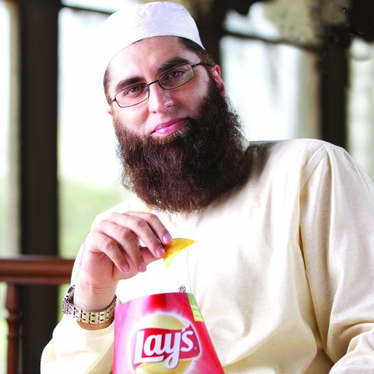 Junaid Jamshed for Lays