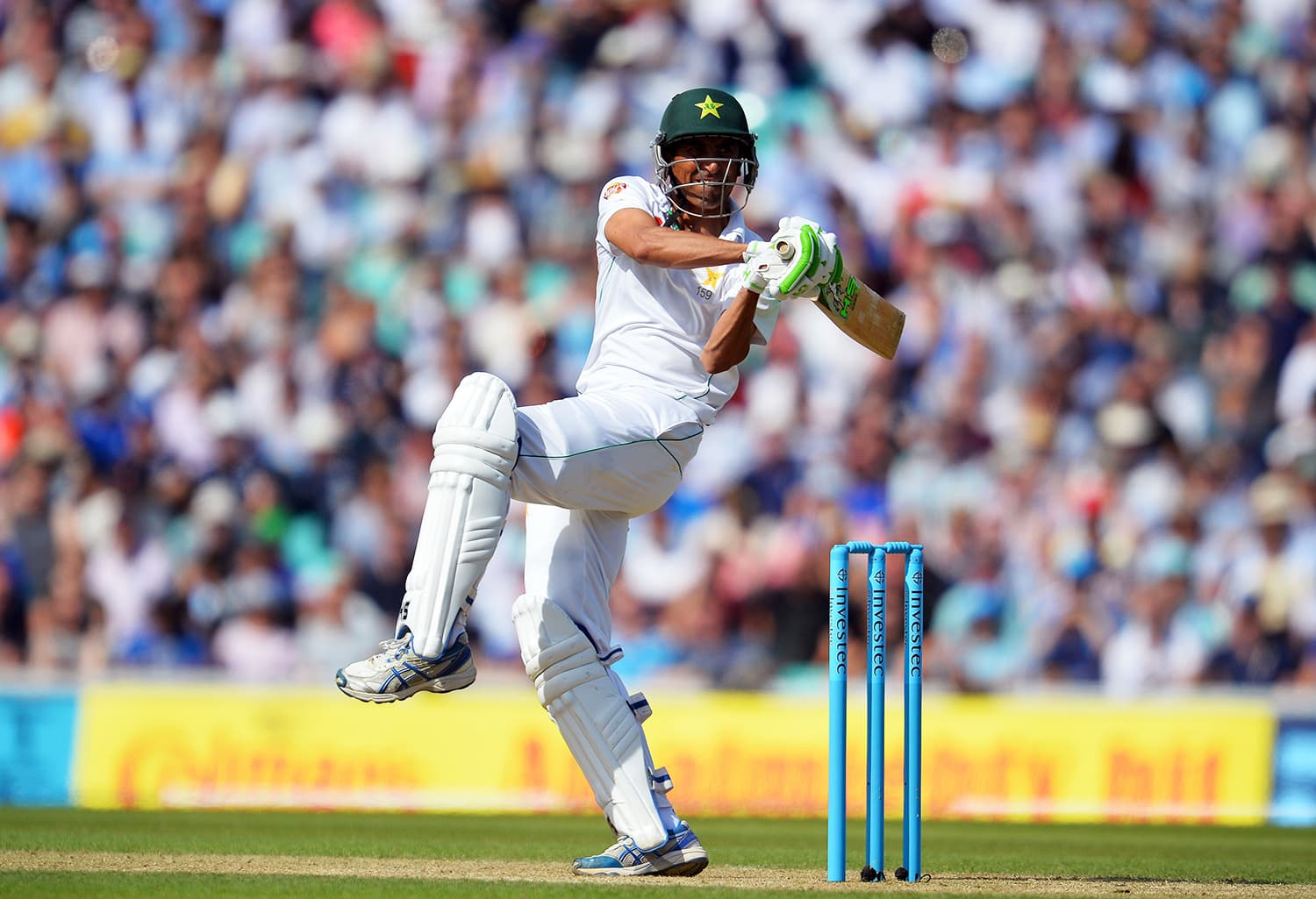 Younis Khan in action. — AFP