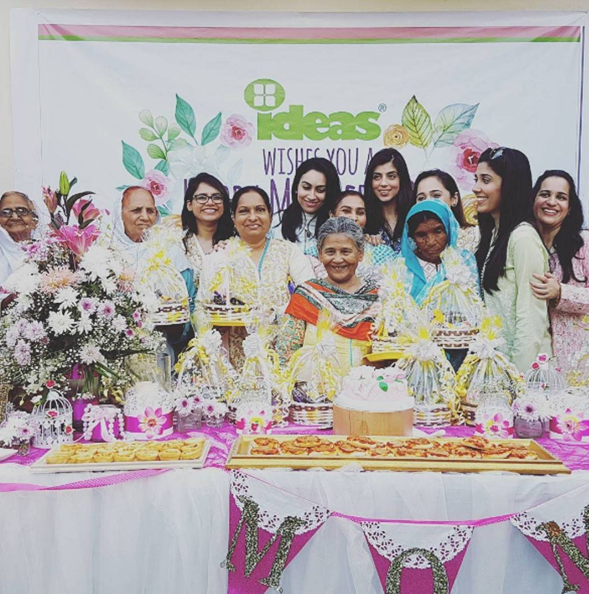 And that's how #ideasteam celebrated Mother's Day with these moms. There is no greater pleasure than putting on smiles on these mother's faces. #ideas #team #mothersdaycelebration #celebratingmomswithideas #ideasforabettertomorrow - Instagram