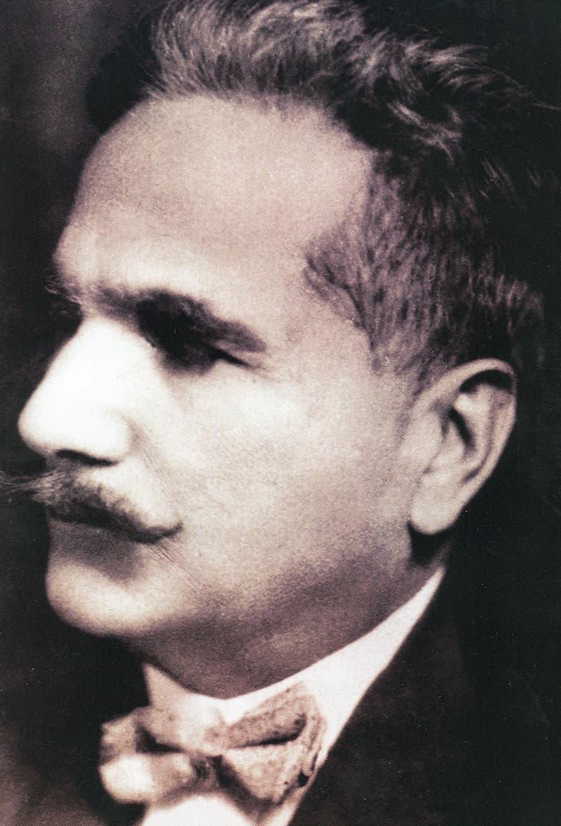 Allama Iqbal.