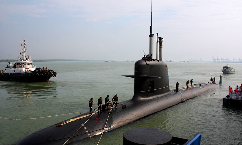 Indian Navy submarine data leaked