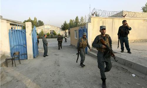 12 killed in gun, bomb attack on American University in Kabul