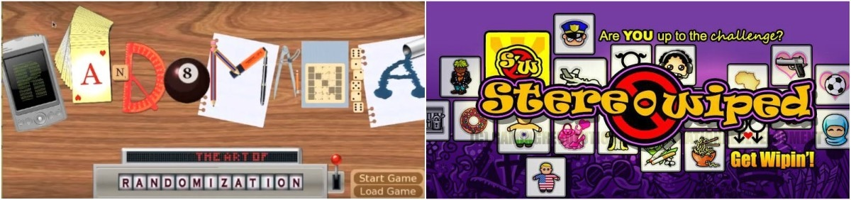 GRID's earliest games were training tool 'Randomania' and stereotype-buster 'Stereowiped'