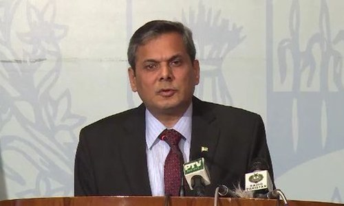 FO asks Afghanistan to refrain India from using its soil against Pakistan