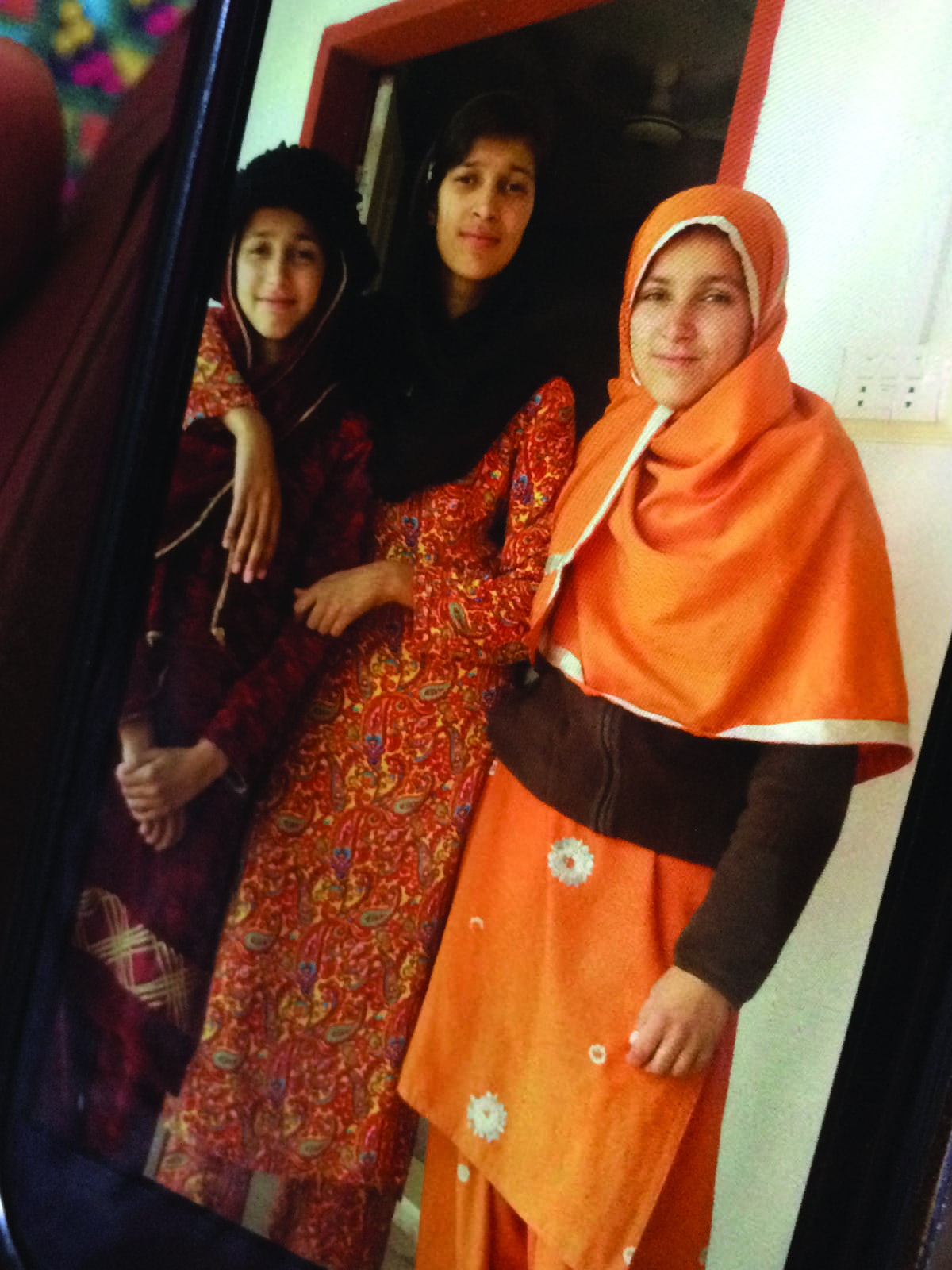 Maria Sadaqat (centre) was burned alive for refusing a marriage proposal in Murree | Annie Ali Khan