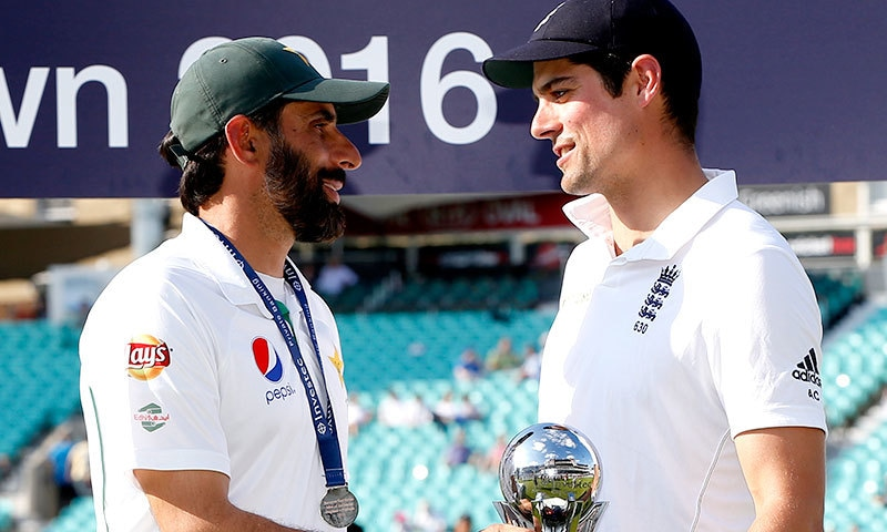Misbah took reigns of Pakistan's captaincy after 2010 spot-fixing scandal. — Reuters