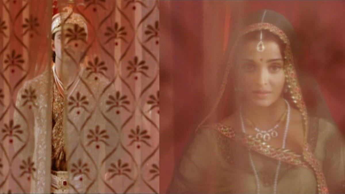 Love behind the curtain in *Jodhaa Akbar*