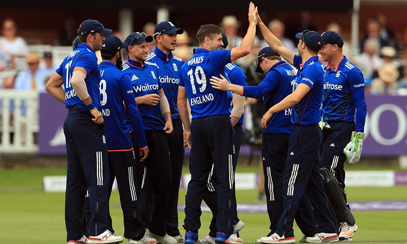 England reduced Pakistan to two for three in first 19 balls. — AP