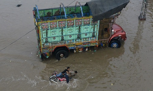 Open manhole on roads were major cause of accidents. —AFP