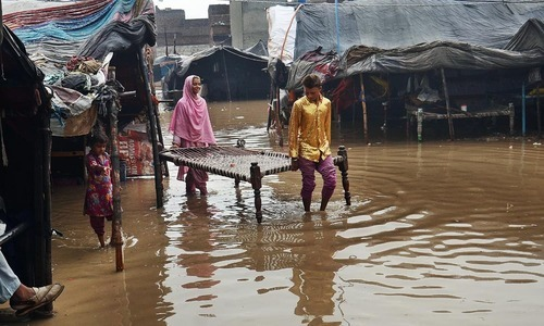 People living in slums and huts were the ones most affected. — Online