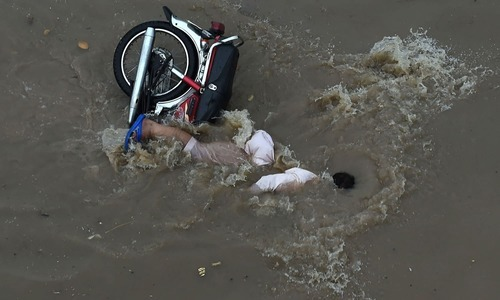 Open manhole on roads were the major cause of accidents. — AFP
