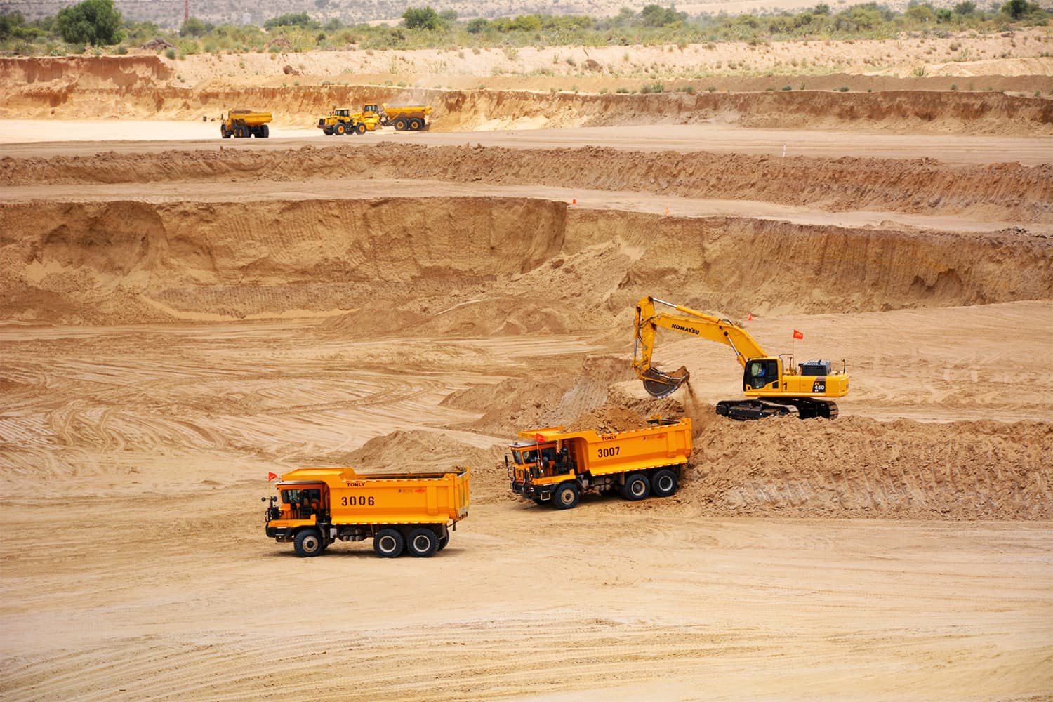 Pakistan's Thar desert contains one of the largest untapped coal deposits in the world. ─ Photo  by author.