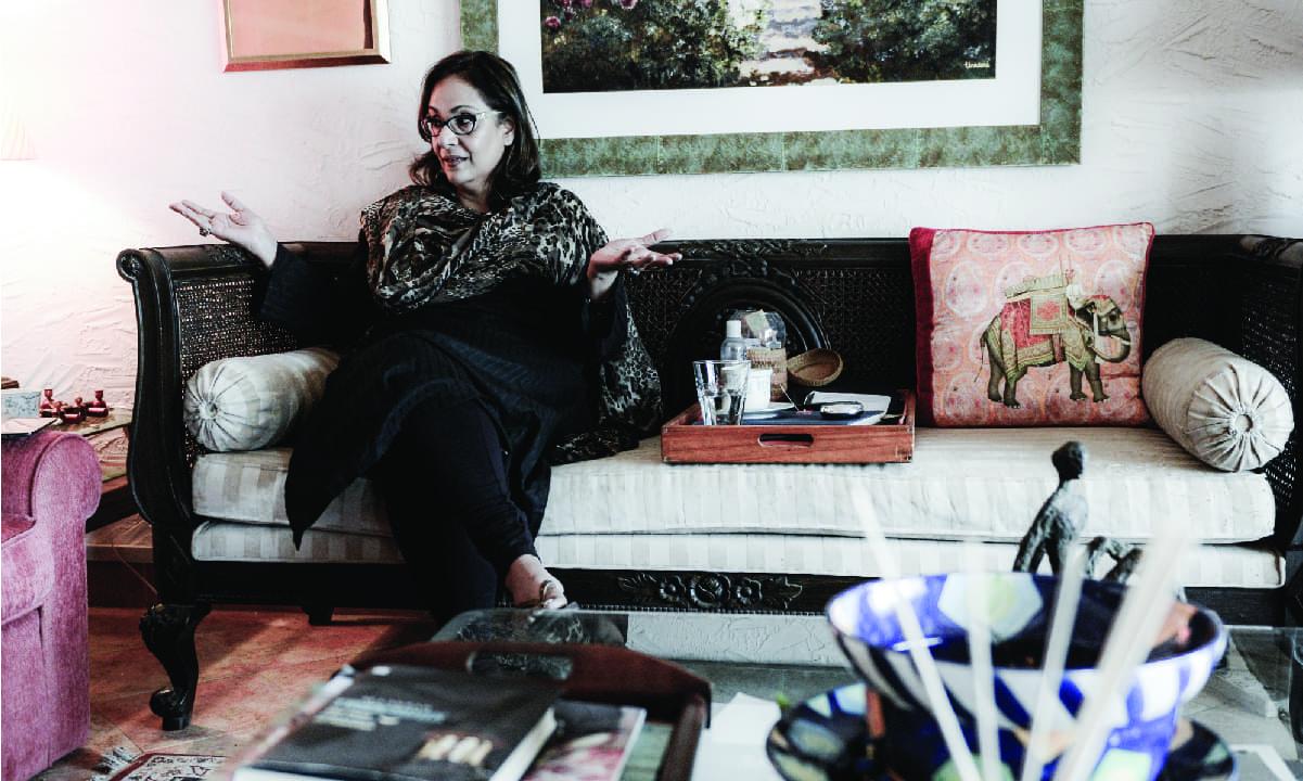 Tina Sani at her residence | Tahir Jamal, White Star