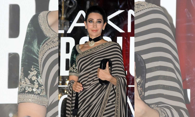 بولی وڈ اداکارہ کرشمہ کپور خان — فوٹو/ اے ایف پی