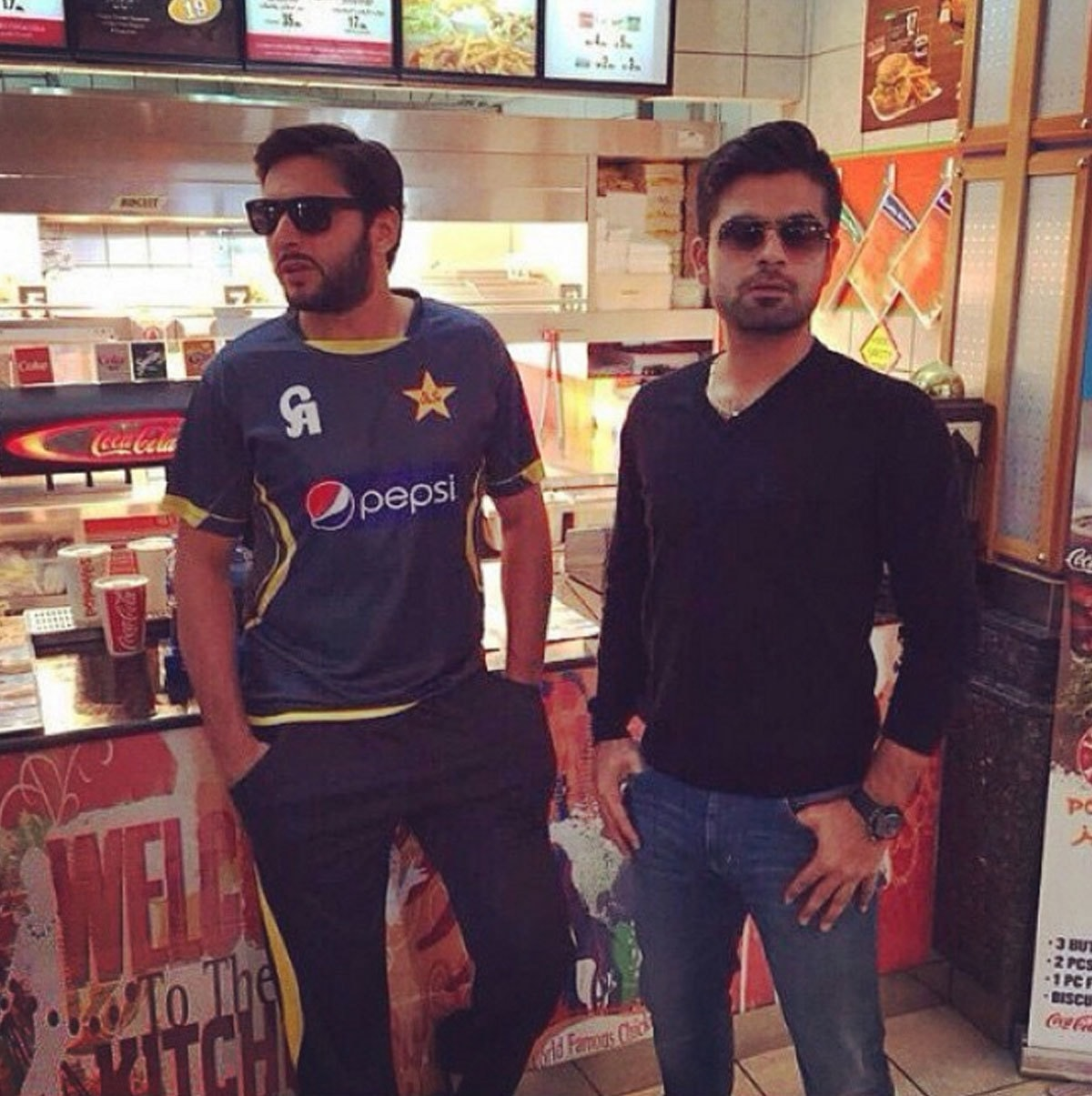 Ahmed Shehzad clearly didn't get the memo. - Instagram
