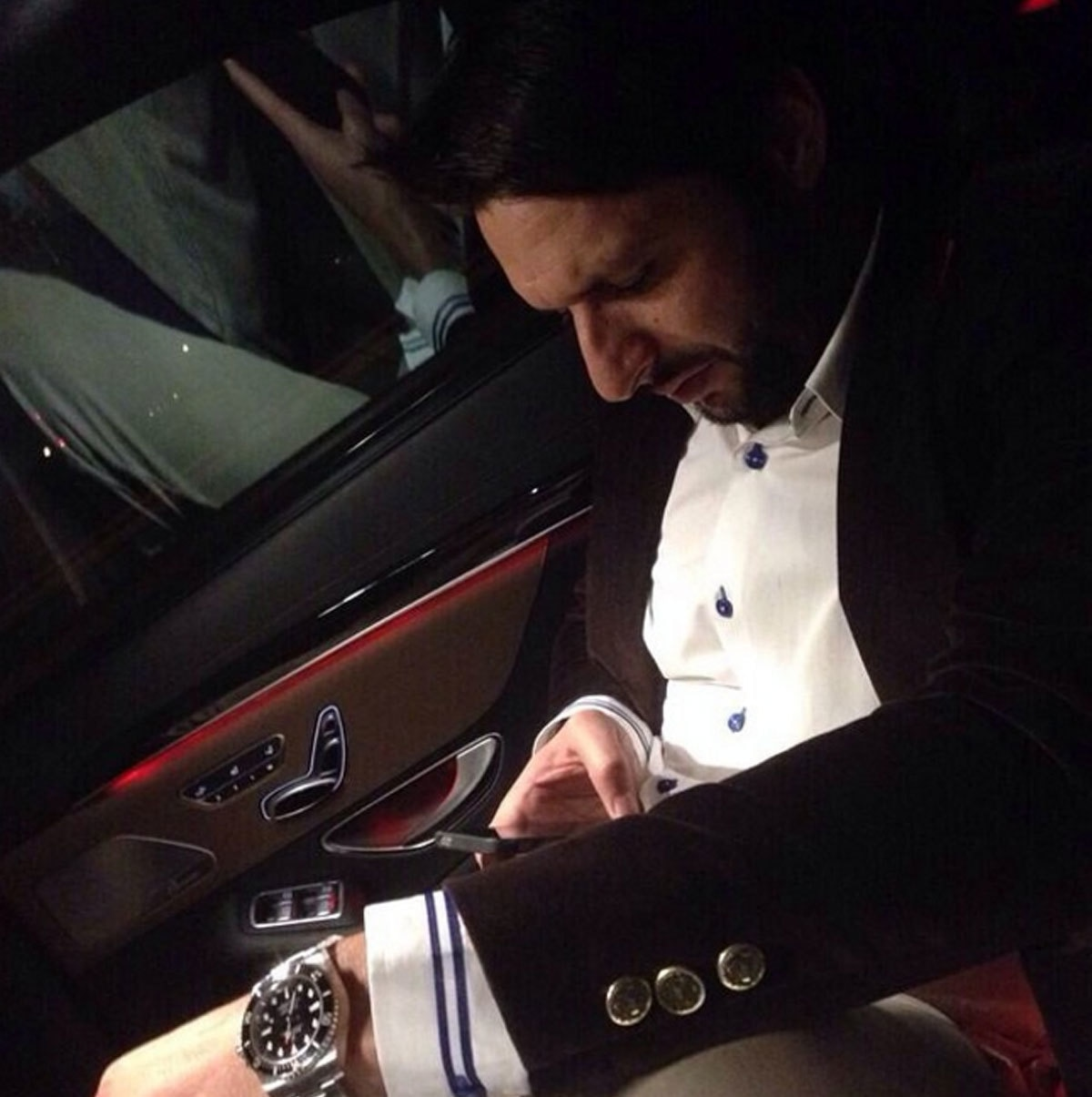 Don Corleone in the making? - Instagram